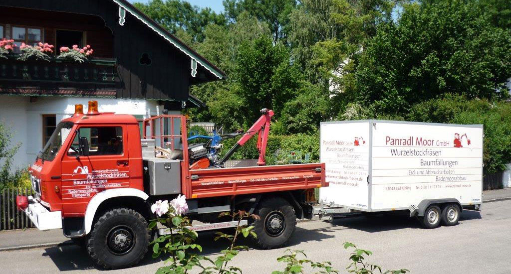 Wurzelstockfräsen Baumfällungen Bad Aibling, Rosenheim